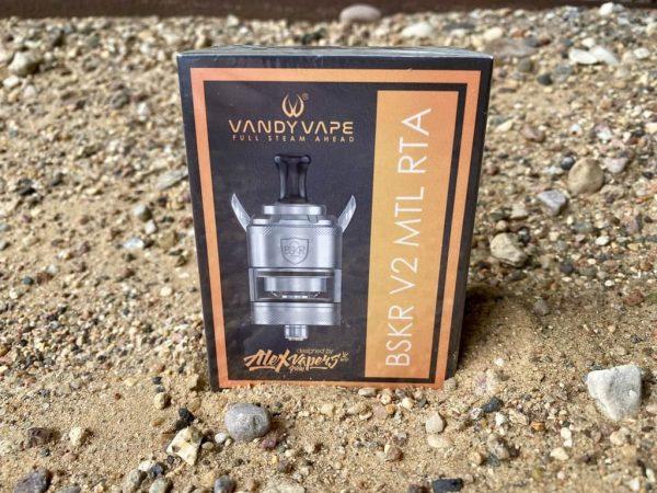 Бак Vandy Vape BSKR v2 mtl rta вкусипар.рф стальной