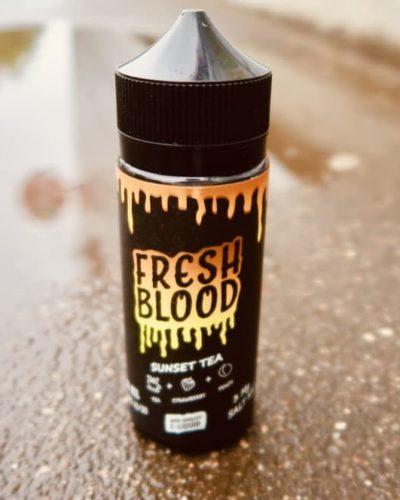 Жидкость Fresh Blood Sunset Tea вкуси пар vape shop