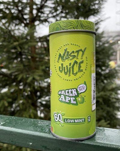 Жидкость Nasty Juice Green Apple вкусипар.рф