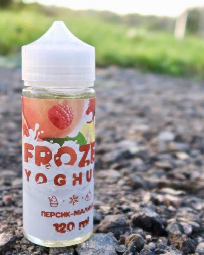 Frozen Yoghurt Персик-малина