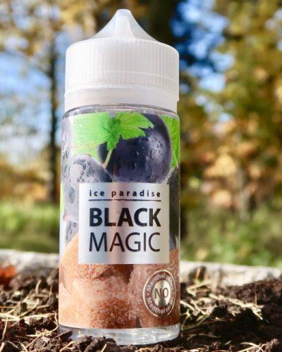 Вейп Челябинск Жидкость ice Paradise Black Magic