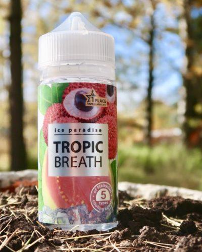 Вейп Челябинск Жидкость ice Paradise Tropic Breath