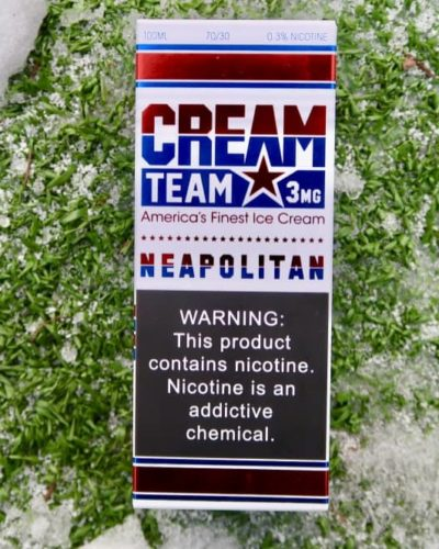 Жидкость Cream Team Neapolitan vape shop Зеленоград вкуси пар