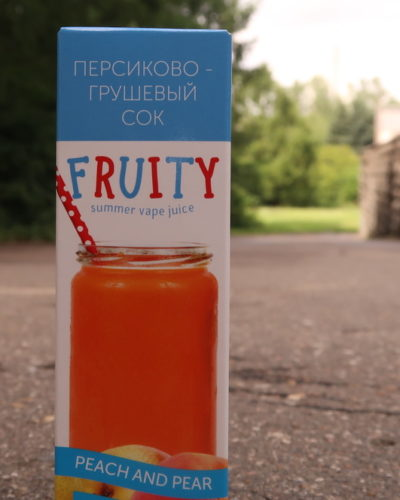 Жидкость Fruity Peach and Pear вкуси пар