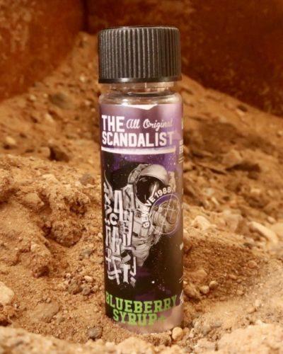 Жидкость The Scandalist Blueberry Syrup