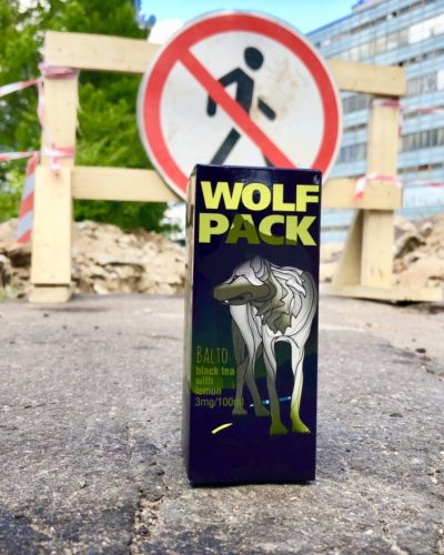 Жидкость Wolf Pack Balto Black Tea Lemon Селигерская