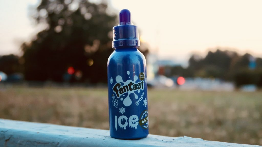 Жидкость Fantasi Grape Ice вкуси пар