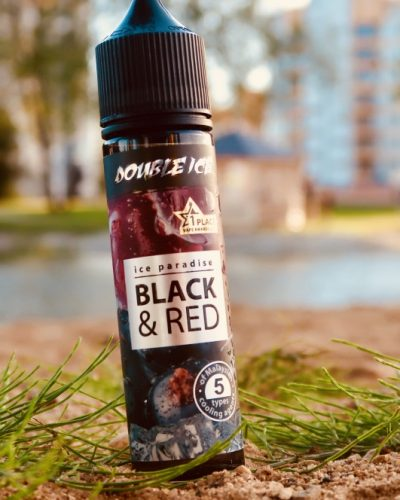 Жидкость Ice Paradise doouble Ice Black and Red