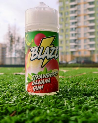 Жидкость Blaze Strawberry Banana Gum