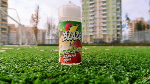 Жидкость Blaze Strawberry Banana Gum