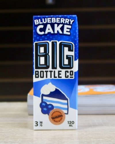 Жидкость Big Bottle Co Blueberry cake вкуси пар
