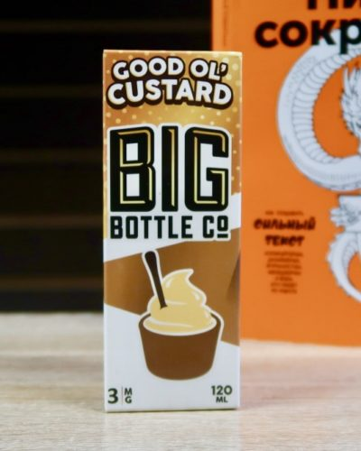 Жидкость Big Bottle Co Good ol Custard вкуси пар