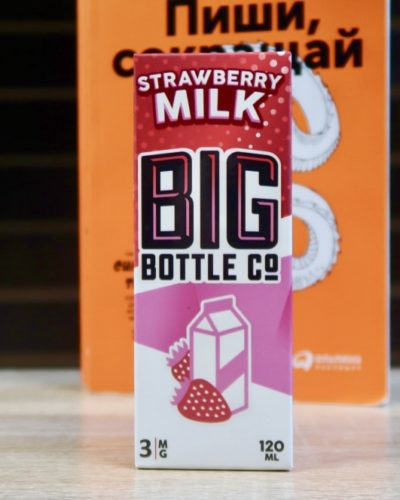 Жидкость Big Bottle Co Strawberry Milk вкуси пар