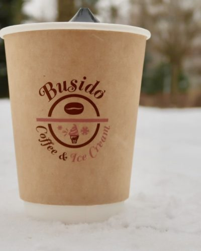 Жидкость Busido Coffee and Ice Cream вкуси пар