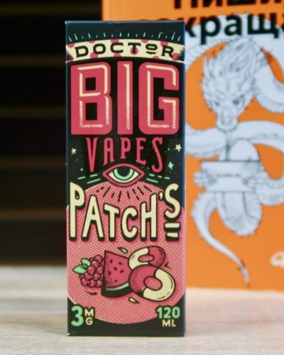 Жидкость Doctor BigVapes Patchs вкуси пар