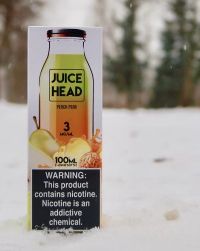 Жидкость Juice Head Peach Pear вкуси пар