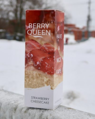 Жидкость Berry Queen Strawberry Cheesecake