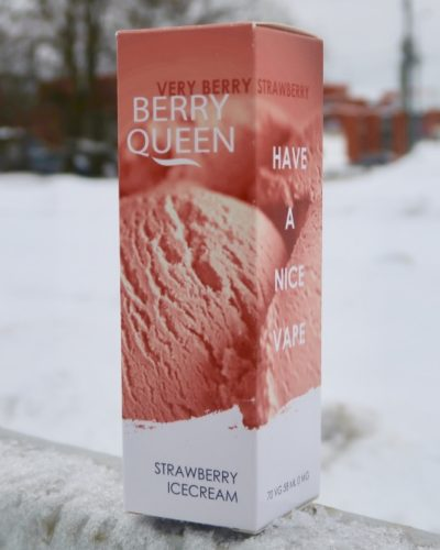 Жидкость Berry Queen Strawberry Icecream