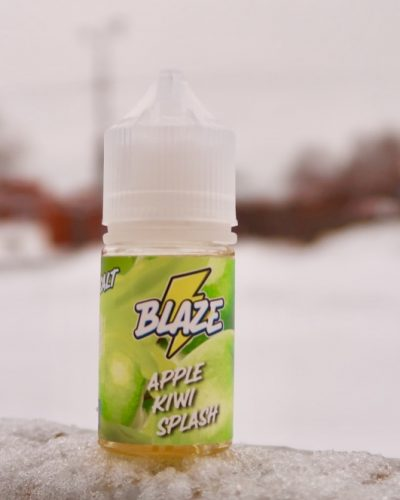 Жидкость Blaze Salt Apple Kiwi Splash
