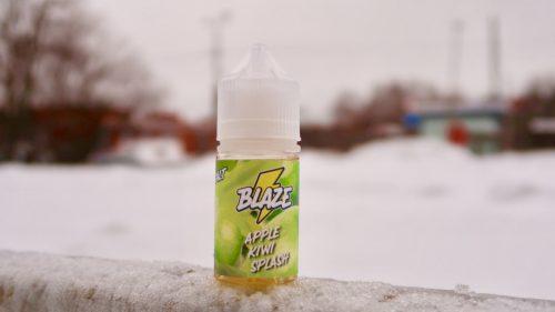 Жидкость Blaze Salt Apple Kiwi Splash