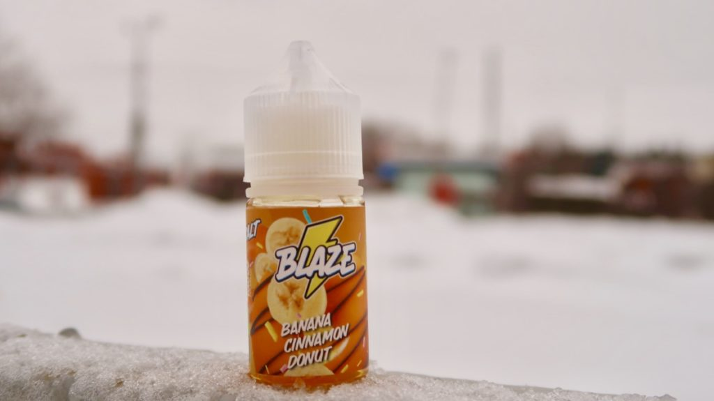 Жидкость Blaze Salt Banana Cinnamon Donut