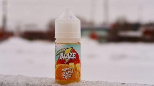 Жидкость Blaze Salt Mango Orange Twist