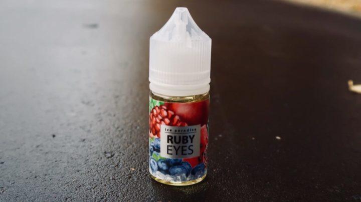 Жидкость для вейпа Ice Paadise Salt Crimson Scream Ruby Eyes вейп магазин Зеленоград