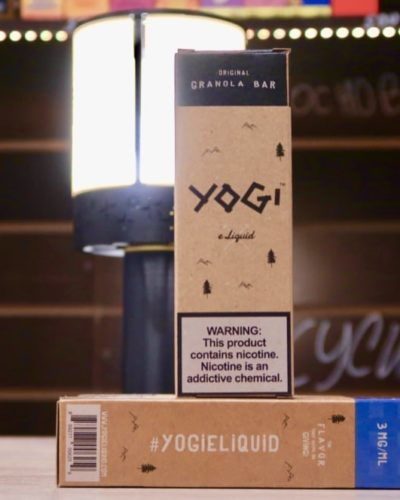Жидкость Yogi Blueberry Original cranola bar