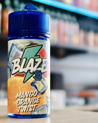 Жидкость Blaze on ice mango orange twist