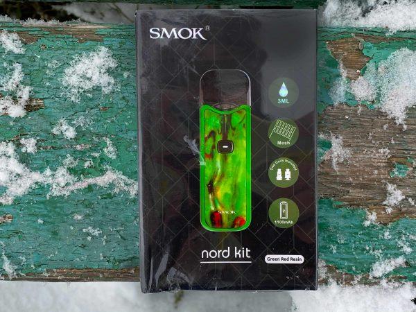 Smok Nord kit Green Red Resin вкусипар.рф