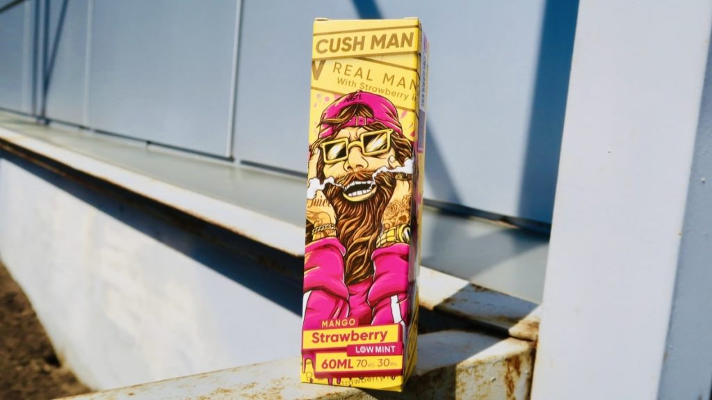 Жидкость Cush Man Mango Strawberry