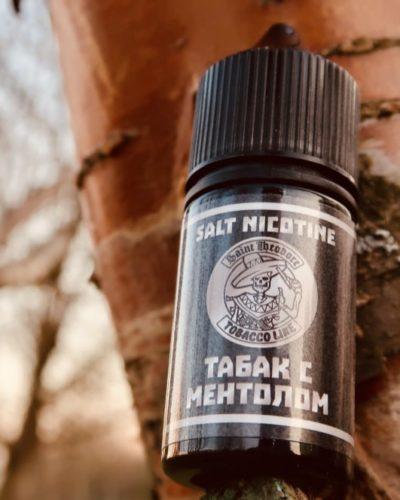 Жидкость Saint Theodore Salt Табак с ментолом