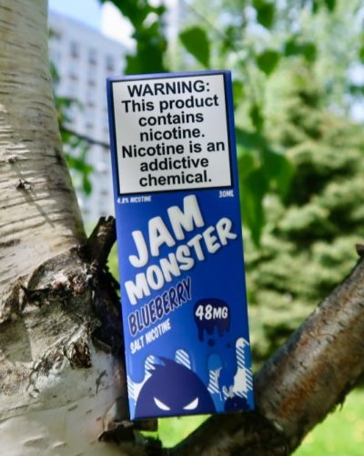 Жидкость Jam Monster Blueberry Salt