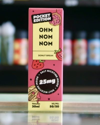 Жидкость Ohm Nom Nom Salt Donut Break