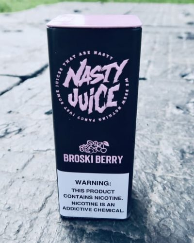 Жидкость Nasty Juice Broski Berry вкуси пар вейп шоп