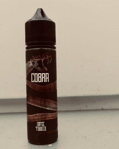 Жидкость кальян вейп Cobra CoffeeTobacco вкуси пар Зеленоград