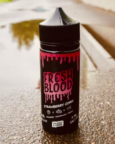Жидкость Fresh Blood Strawberry Corn вкуси пар vape shop