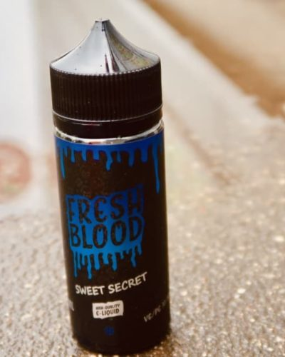 Жидкость Fresh Blood Sweet Secret вкуси пар vape shop