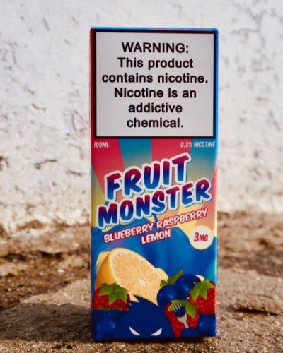 Жидкость Fruit Monster Blueberry Raspberry Lemon купить Москва вкуси пар