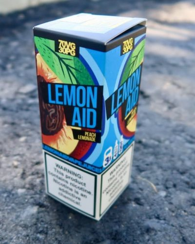 Жидкость Lemonaid Peach Lomonade vape shop вкуси пар