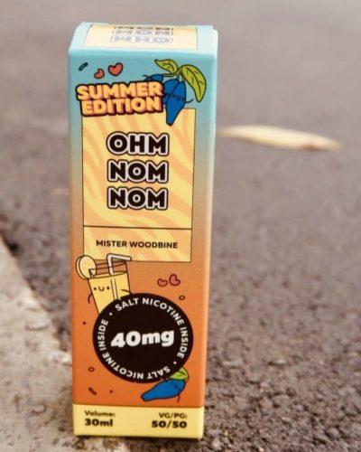 Жидкость Ohm Nom Nom Summer edition mister woodbine вкуси пар вейп зеленоград
