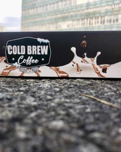 Жидкость для вейпа Nitro Cold Brew Coffee Vanilla Bean вейп магаизн
