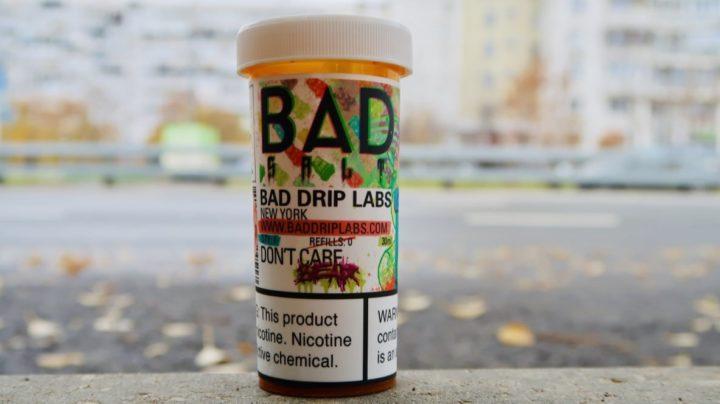 Жидкость Bad Drip Dalt Dont care bear вкуси пар зеленоград