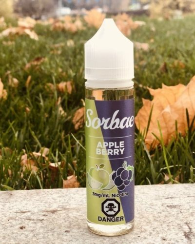 Жидкость Sorbae Apple Berry vape зеленоград вкуси пар