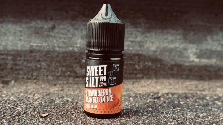 Жидкость Sweet Salt Strawberry Mango on ice vape магазин вкуси пар