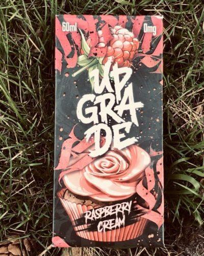 Жидкость с никотином Upgrade Raspberry Cream вкуси пар вейп магазин Зеленоград