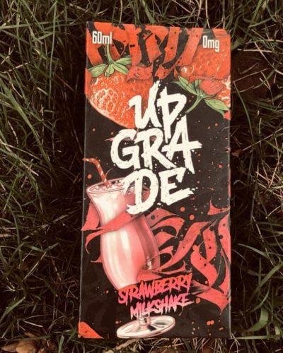 Жидкость с никотином Upgrade Strawberry Milkshake вкуси пар вейп магазин Зеленоград