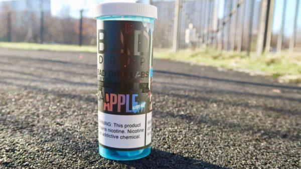 Жидкость Bad Drip Apple iced out вкуси пар вейп зеленоград