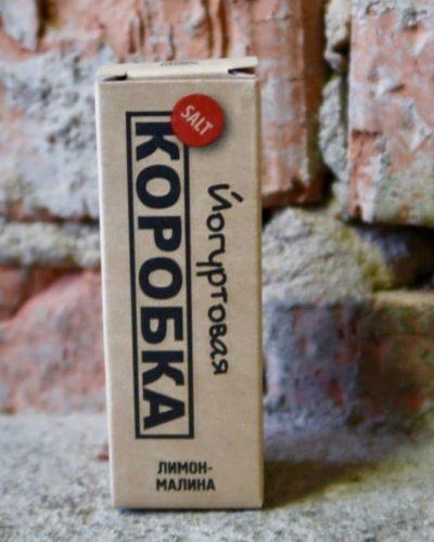 Жидкость Коробка Йогуртовая лимон-малина вкусипар.рф