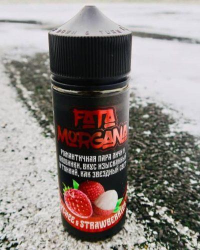 Жидкость для электронных сигарет Зеленоград Fata Morgana lychee and Strawberry вкусипар.рф